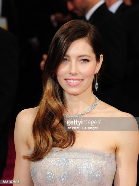 Jesssica Biel arriving at the 86th Academy Awards held at the Dolby Theatre in Hollywood Los Angeles CA USA March 2 2014