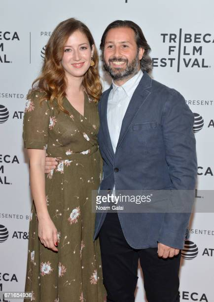 Jessy Hodges and Director Kasra Farahani attends the 'Tilt' Premiere during 2017 Tribeca Film Festival at Cinepolis Chelsea on April 22 2017 in New...