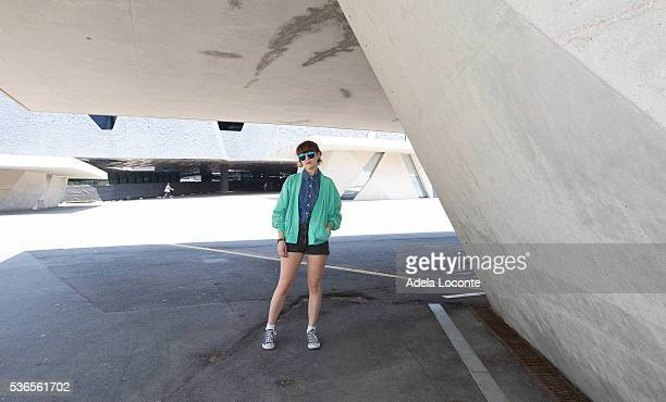 Jessy Lanza attends at Primavera Sound 2016 on June 1 2016 in Barcelona Spain