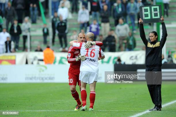 Jessy MOULIN / Jeremie JANOT Saint Etienne / Rennes 36eme journee de Ligue 1