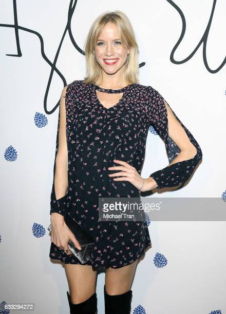 Jessy Schram arrives at the Tyler Ellis Celebrates 5th Anniversary and launch of Tyler Ellis x Petra Flannery Collection held at Chateau Marmont on...