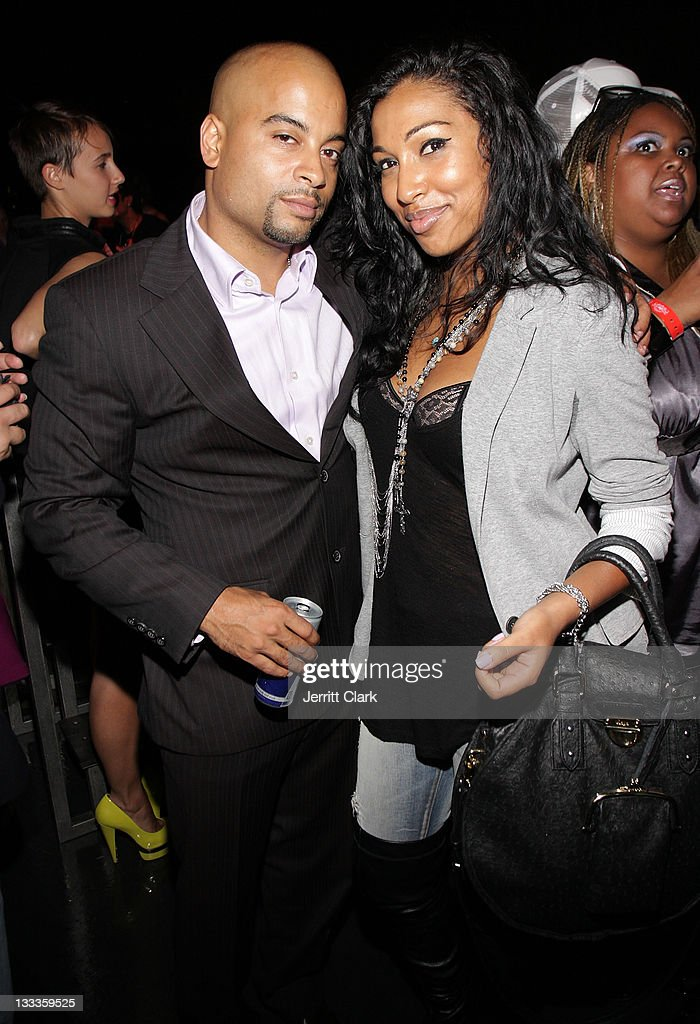 Jessy Terrero and Melanie Fiona attend Rockstar Games Beaterator House of Hype at Hotel on Rivington on September 12 2009 in New York City