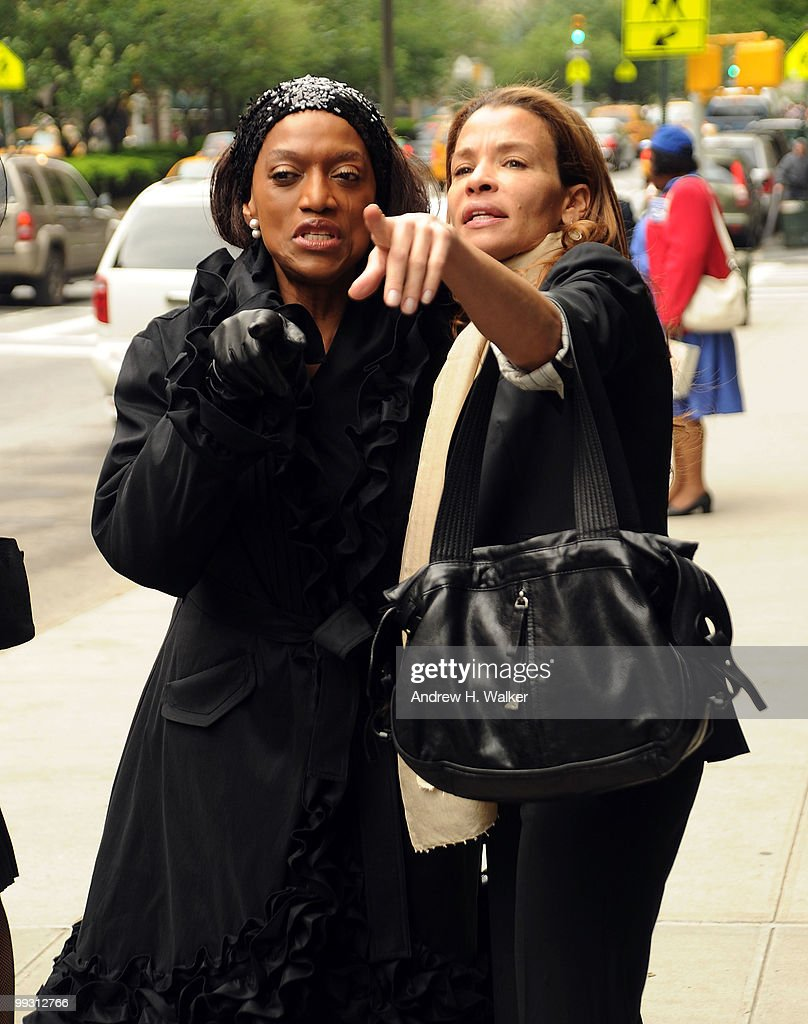 <a gi-track='captionPersonalityLinkClicked' href=/galleries/search?phrase=Jessye+Norman&family=editorial&specificpeople=239491 ng-click='$event.stopPropagation()'>Jessye Norman</a> and Jenny Lumet attend funeral services for entertainer Lena Horne at St. Ignatius Loyola Church on May 14, 2010 in New York City.
