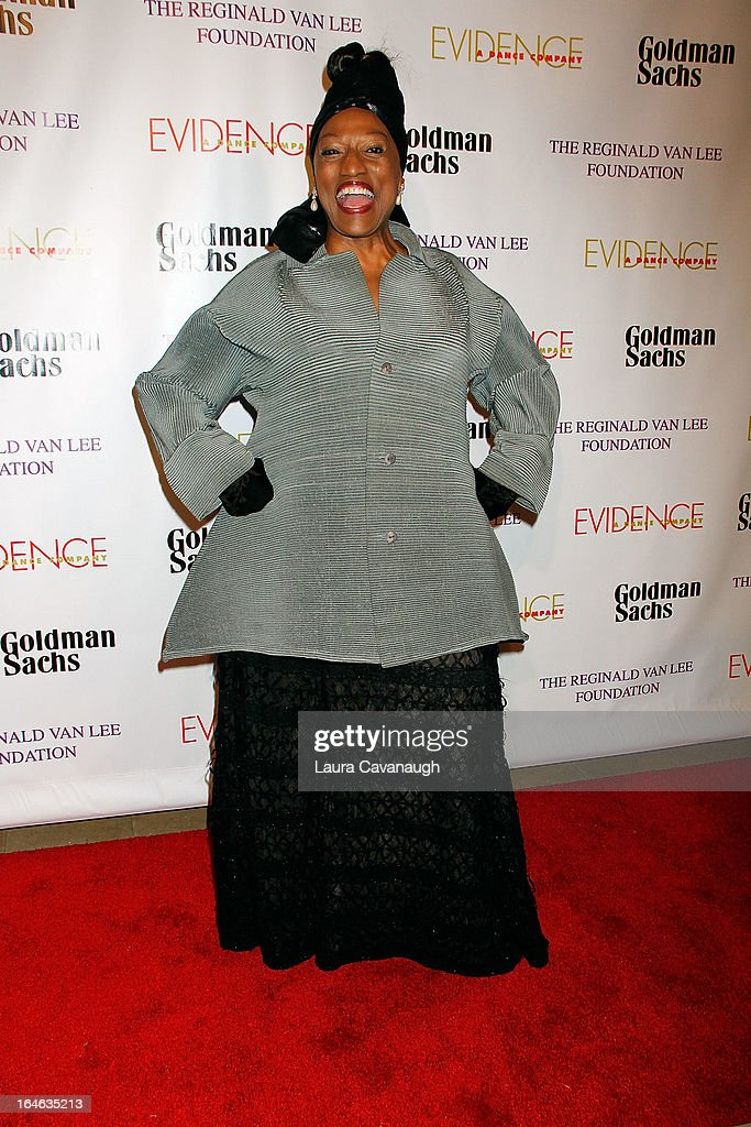 <a gi-track='captionPersonalityLinkClicked' href=/galleries/search?phrase=Jessye+Norman&family=editorial&specificpeople=239491 ng-click='$event.stopPropagation()'>Jessye Norman</a> attends the Evidence, A Dance Company 9th annual Torch Ball at The Plaza Hotel on March 25, 2013 in New York City.