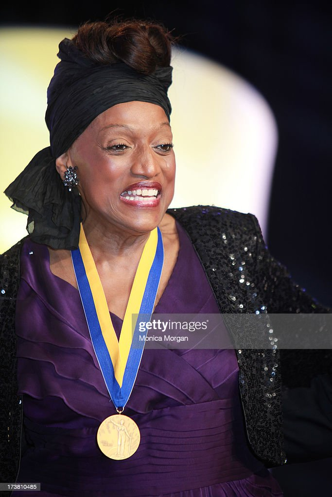 <a gi-track='captionPersonalityLinkClicked' href=/galleries/search?phrase=Jessye+Norman&family=editorial&specificpeople=239491 ng-click='$event.stopPropagation()'>Jessye Norman</a> receives the 104th Annual NAACP Convention Spingarn Award at the Hilton Hotel on July 17, 2013 in Orlando, Florida.