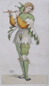 A jester illustration France 16th century