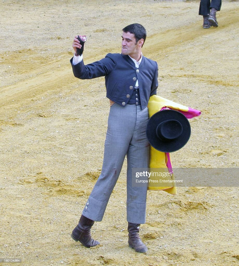 Jesulin de Ubrique Attends Bullfights Performance In Las Majadas ...