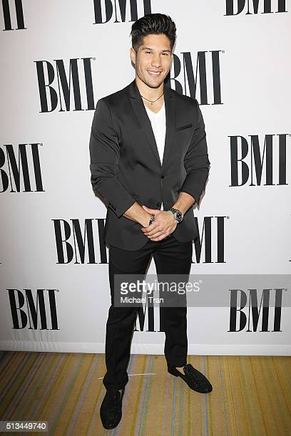 Jesus Alberto Miranda Perez of Chino y Nacho arrives at the 23rd Annual BMI Latin Awards held at the Beverly Wilshire Four Seasons Hotel on March 2...