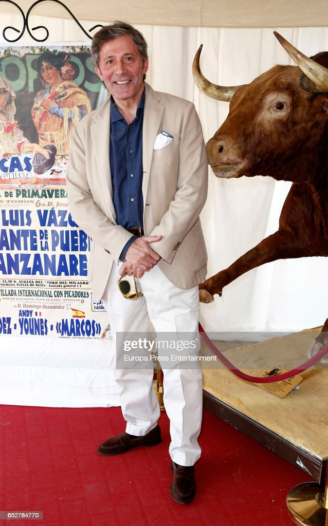 Jesus Alvarez attends the traditional Spring Bullfighting performance on March 11, 2017 in Illescas, Spain.