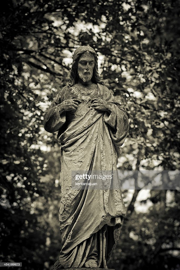 Jesus among the branches : Stock Photo