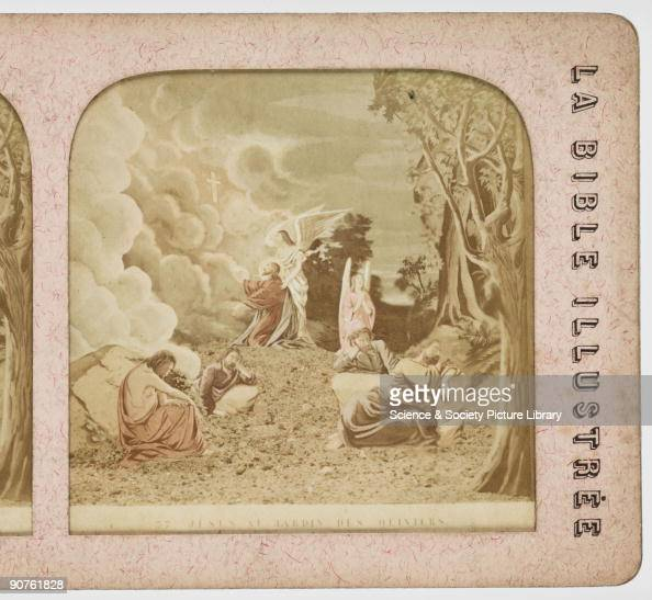 Jesus au jardin des oliviers photos et images de for Au jardin des oliviers