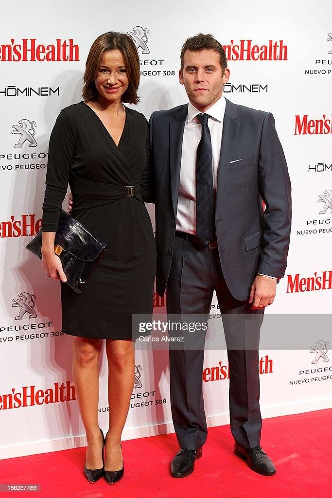 Jesus Carballo and Celia Gomez attend Men's Health Awards 2013 at the Canal Theater on October 29, 2013 in Madrid, Spain.
