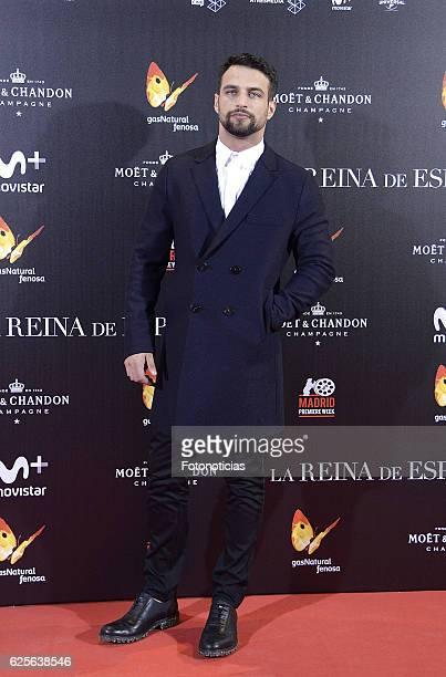 Jesus Castro attends 'La reina de Espana' Madrid premiere at Callao City Lights cinema on November 24 2016 in Madrid Spain