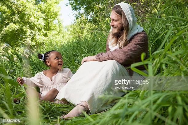 Jesus Christ with Young Child