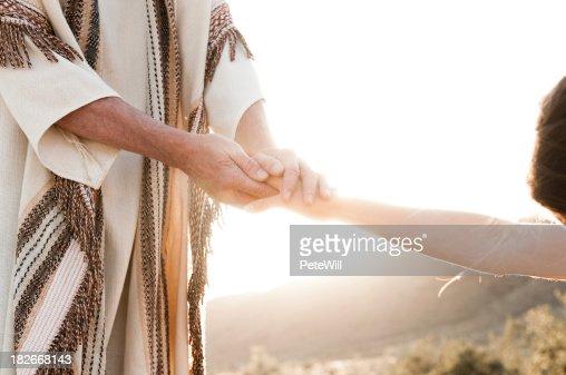 Jesus Comforting