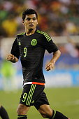 Jesus Corona of Mexico during the 2015 CONCACAF Gold Cup Final match between Jamaica and Mexico at Lincoln Financial Field on July 26 2015 in...
