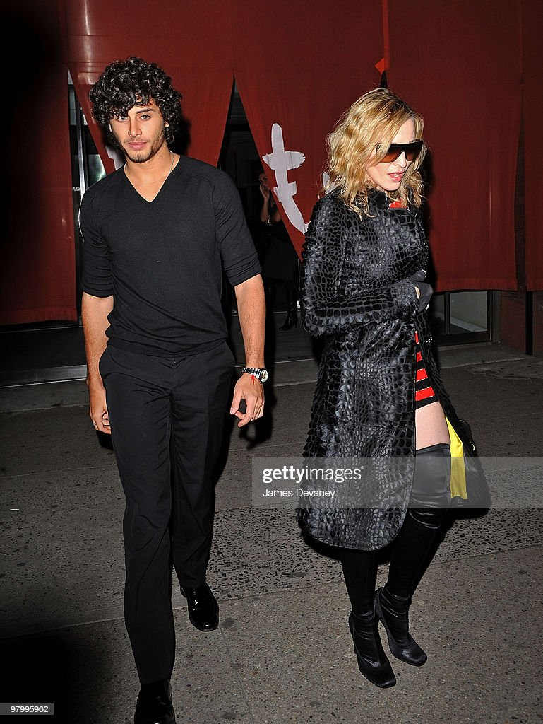 Madonna Sighting In New York City - March 18, 2010