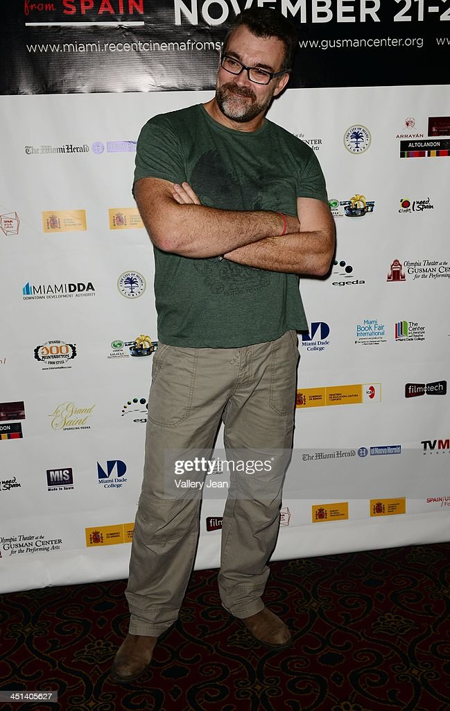 Jesus Monllao attends Cinema From Spain Film Festival at Gusman Center for the Performing Arts on November 21, 2013 in Miami, Florida.