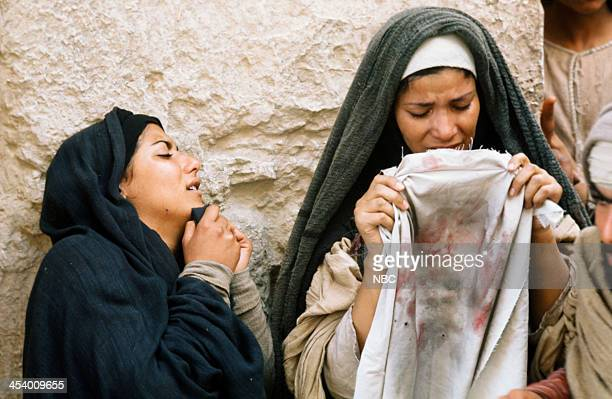 EVENT 'Jesus of Nazareth' Pictured Unknown as women mourners Photo by NBC/NBCU Photo Bank via Getty Images