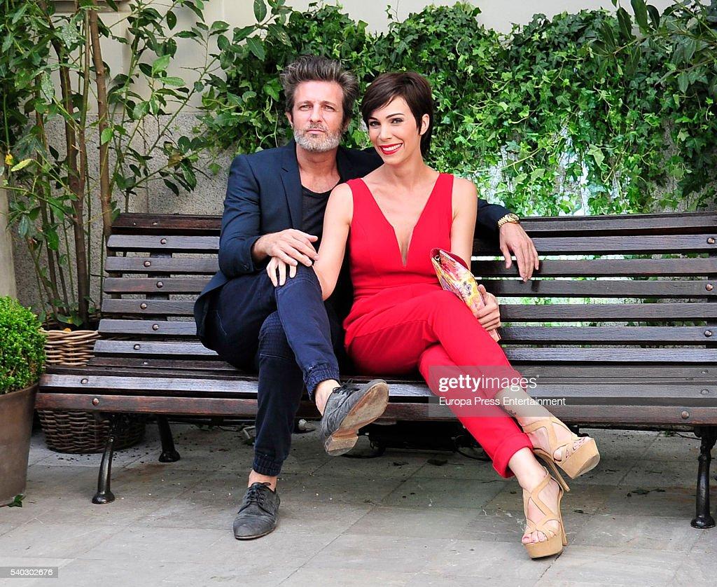 Jesus Olmedo and Nerea Garmendia attend 'Juegaterapia' party at the Santo Mauro Hotel on June 14 2016 in Madrid Spain