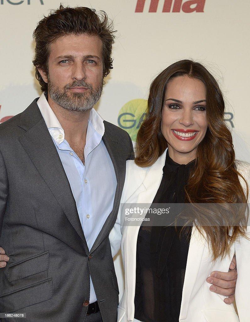 Jesus Olmedo and Nerea Garmendia attend Mia magazine 'Cuida de Ti' 2013 Awards at Calderon theater on October 29 2013 in Madrid Spain