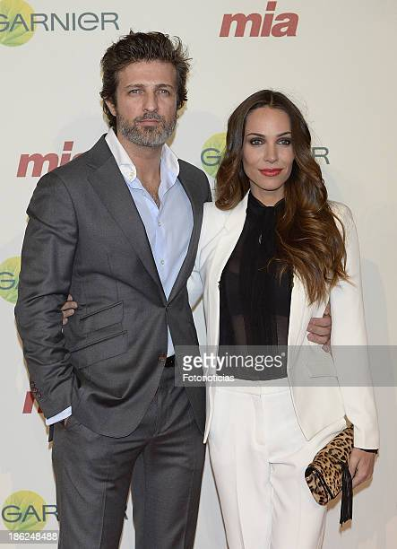 Jesus Olmedo and Nerea Garmendia attend Mia magazine 'Cuida de Ti' 2013 Awards at Calderon theater on October 29 2013 in Madrid Spain