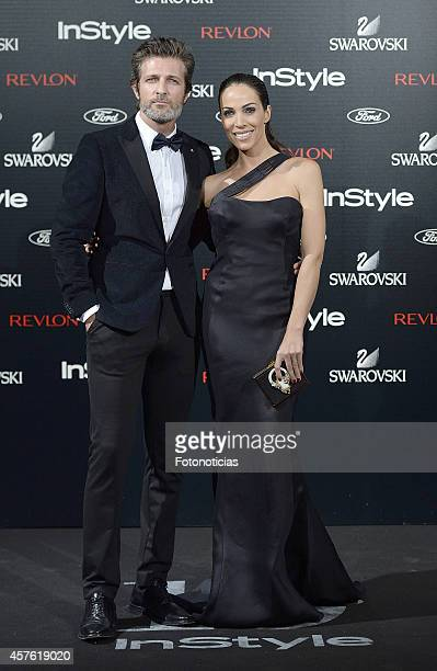 Jesus Olmedo and Nerea Garmendia attend the InStyle Magazine 10th anniversary party at Gran Melia Fenix Hotel on October 21 2014 in Madrid Spain
