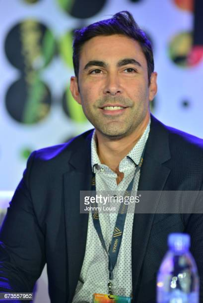 Jesus Salas during The Billboard Latin Music Conference Awards I WANT TO BE NUMBER 1panel at Ritz Carlton South Beach on April 26 2017 in Miami Beach...