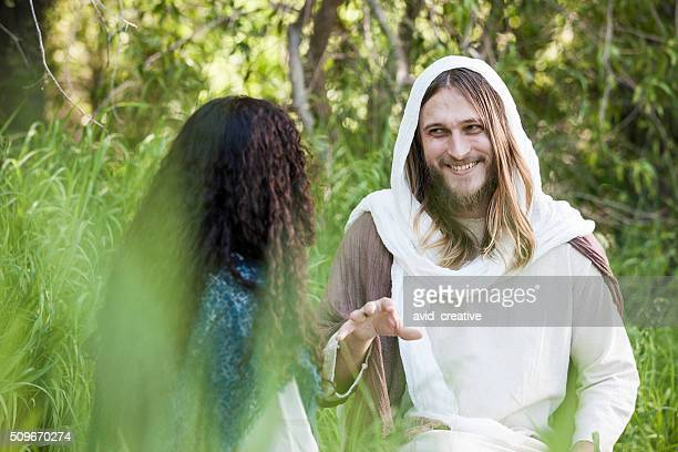 Jesus Talks with Woman