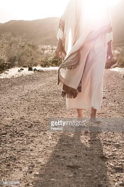 Jesus a caminhar para