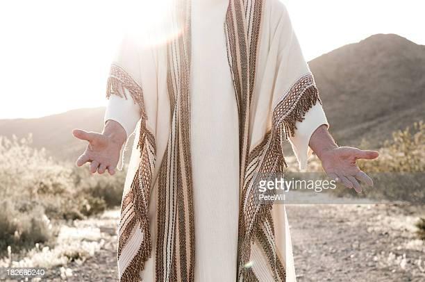 Gesù con le braccia aperte