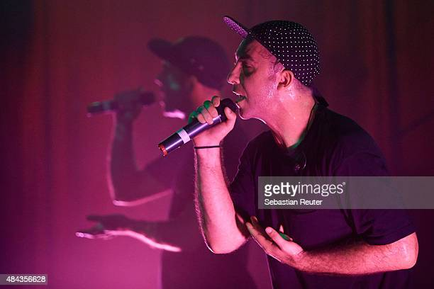 Jeswon and Tuka of Thundamentals perform as support to Hilltop Hoods at Lido on August 17 2015 in Berlin Germany
