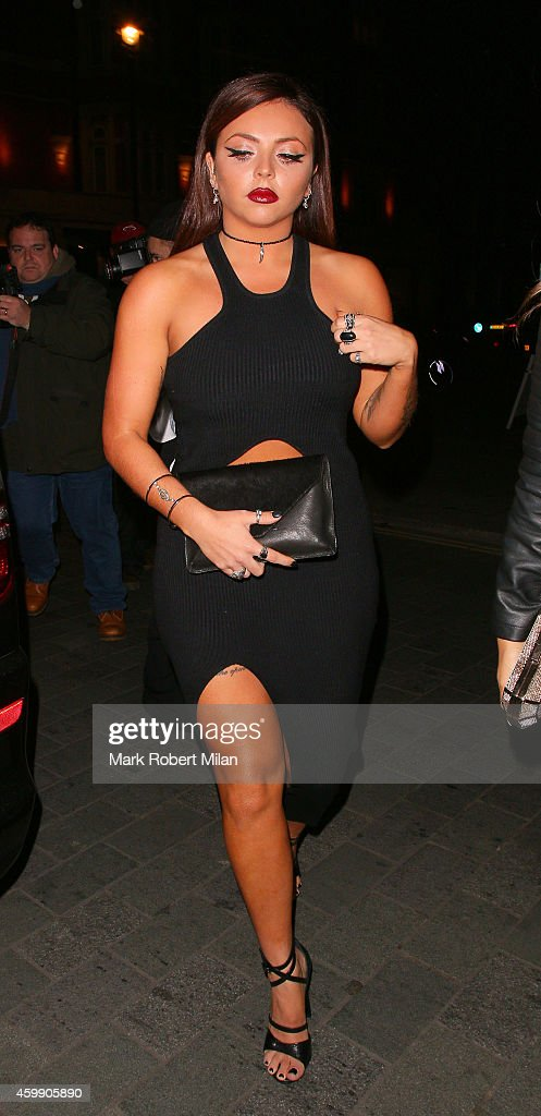 Jesy Nelson attending the Cosmopolitan Ultimate Women Of The Year Awards on December 3 2014 in London England