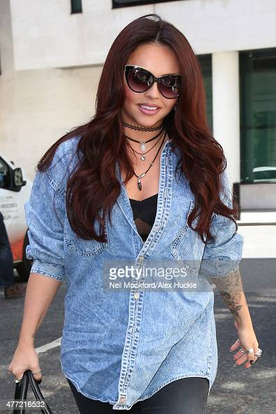 Jesy Nelson from Little Mix seen at BBC Radio 2 on June 15 2015 in London England
