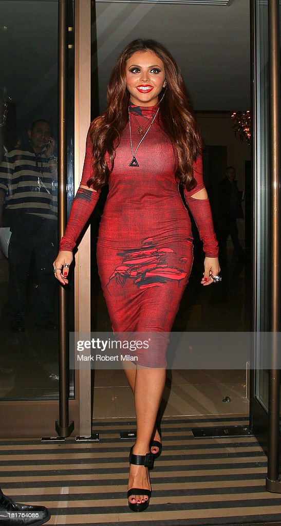 <a gi-track='captionPersonalityLinkClicked' href=/galleries/search?phrase=Jesy+Nelson+-+Little+Mix&family=editorial&specificpeople=8378192 ng-click='$event.stopPropagation()'>Jesy Nelson</a> leaving the May Fair hotel on September 24, 2013 in London, England.