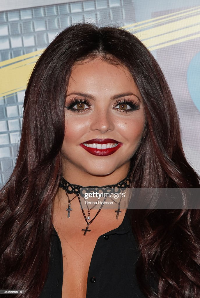 Jesy Nelson of Little Mix attends the Los Angeles album signing for Little Mix at Hard Rock Cafe Hollywood CA on November 3 2015 in Hollywood...