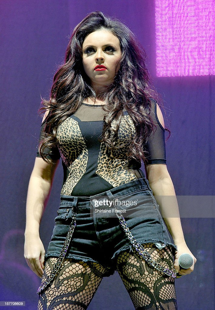 Jesy Nelson of Little Mix performs at the Key 103 Jingle Ball at Manchester Arena on December 5, 2012 in Manchester, England.