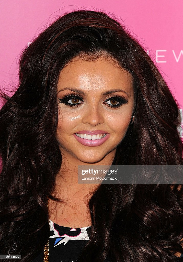<a gi-track='captionPersonalityLinkClicked' href=/galleries/search?phrase=Jesy+Nelson+-+Little+Mix&family=editorial&specificpeople=8378192 ng-click='$event.stopPropagation()'>Jesy Nelson</a> of Little Mix poses at a photocall to launch their collection of press on nails for New Look at Westfield on April 12, 2013 in London, England.