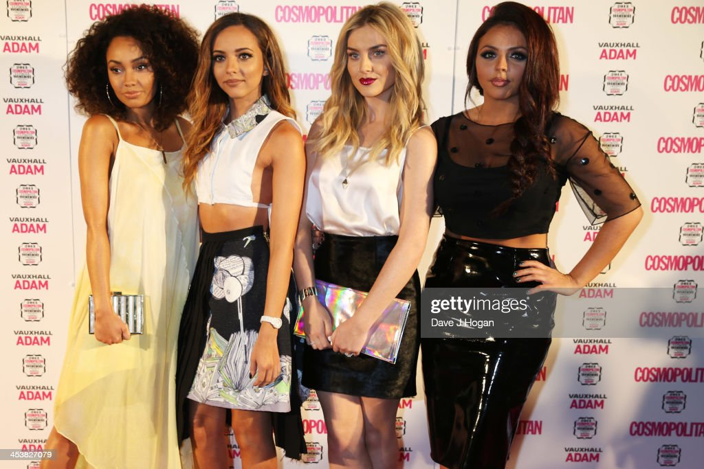 <a gi-track='captionPersonalityLinkClicked' href=/galleries/search?phrase=Jesy+Nelson+-+Little+Mix&family=editorial&specificpeople=8378192 ng-click='$event.stopPropagation()'>Jesy Nelson</a>, <a gi-track='captionPersonalityLinkClicked' href=/galleries/search?phrase=Perrie+Edwards&family=editorial&specificpeople=8378323 ng-click='$event.stopPropagation()'>Perrie Edwards</a>, Jade Thirwall and <a gi-track='captionPersonalityLinkClicked' href=/galleries/search?phrase=Leigh-Anne+Pinnock&family=editorial&specificpeople=8378207 ng-click='$event.stopPropagation()'>Leigh-Anne Pinnock</a> of Little Mix attend the Cosmopolitan Ultimate Women Of The Year Awards 2013 at The Victoria and Albert Museum on December 5, 2013 in London, England.