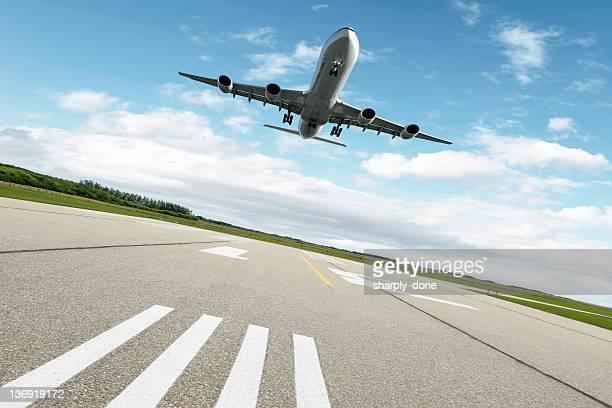 XL jet Avion atterrissant