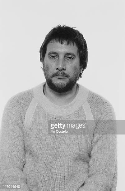 Jet Black drummer with British New Wave band The Stranglers poses for a studio portrait circa 1978