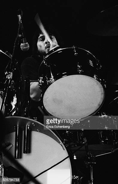 Jet Black of The Stranglers performs on stage at The Rainbow Theatre Finsbury Park London United Kingdom January 30th 1977