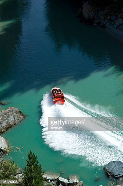 jet boat at shotover river