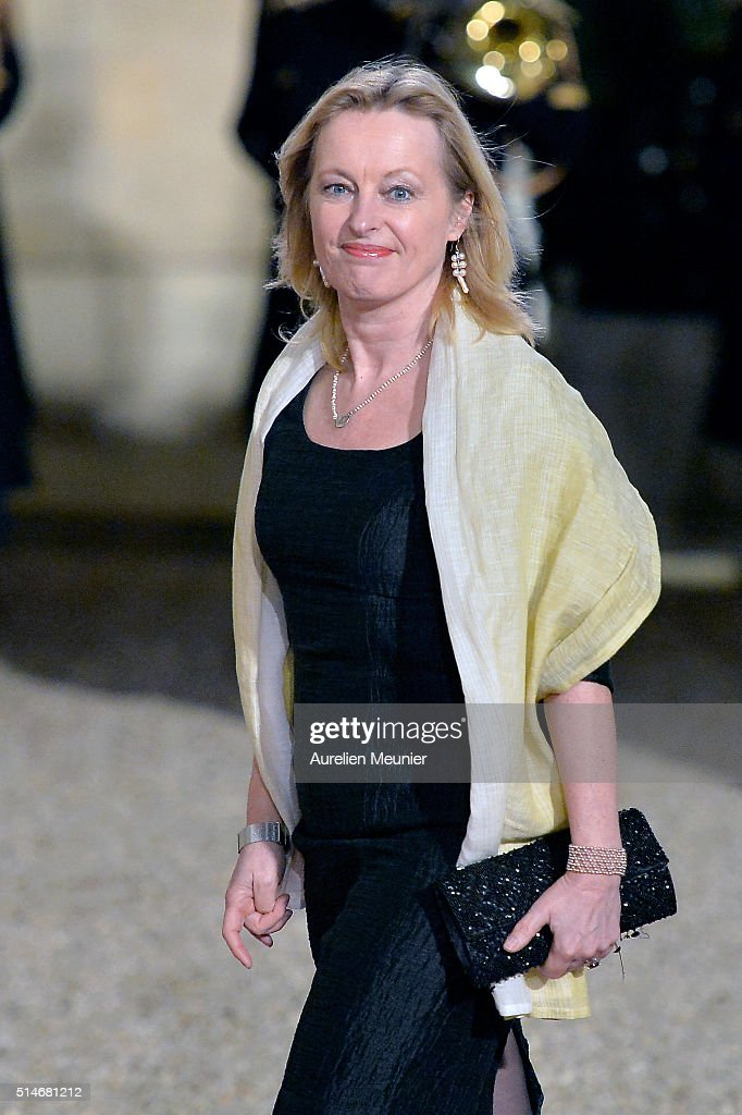 Jet Bussemaker arrives to the state dinner given by French President Francois Hollande in honor of Queen Maxima of the Netherlands and King Willem-Alexander of the Netherlands at Elysee Palace on March 10, 2016 in Paris, France. Queen Maxima and King Willem-Alexander of The Netherlands are on a two-day state visit in France