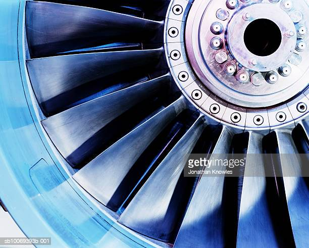 Jet engine, close up