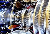 inside the jet engine