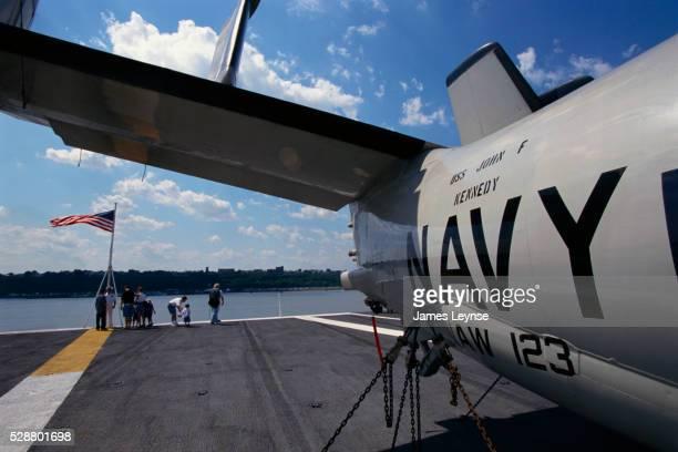 Jet on the USS John F. Kennedy
