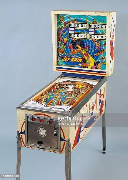 Jet Spin pinball machine made by Gottlieb 1977 United States of America 20th century