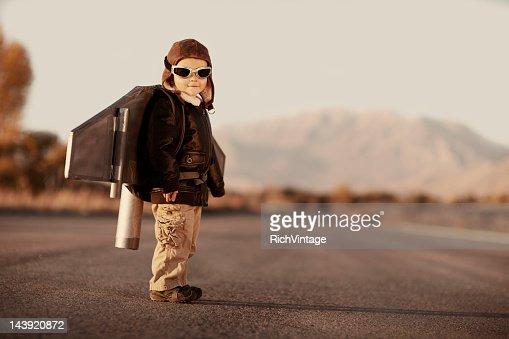 Jetpack Kid