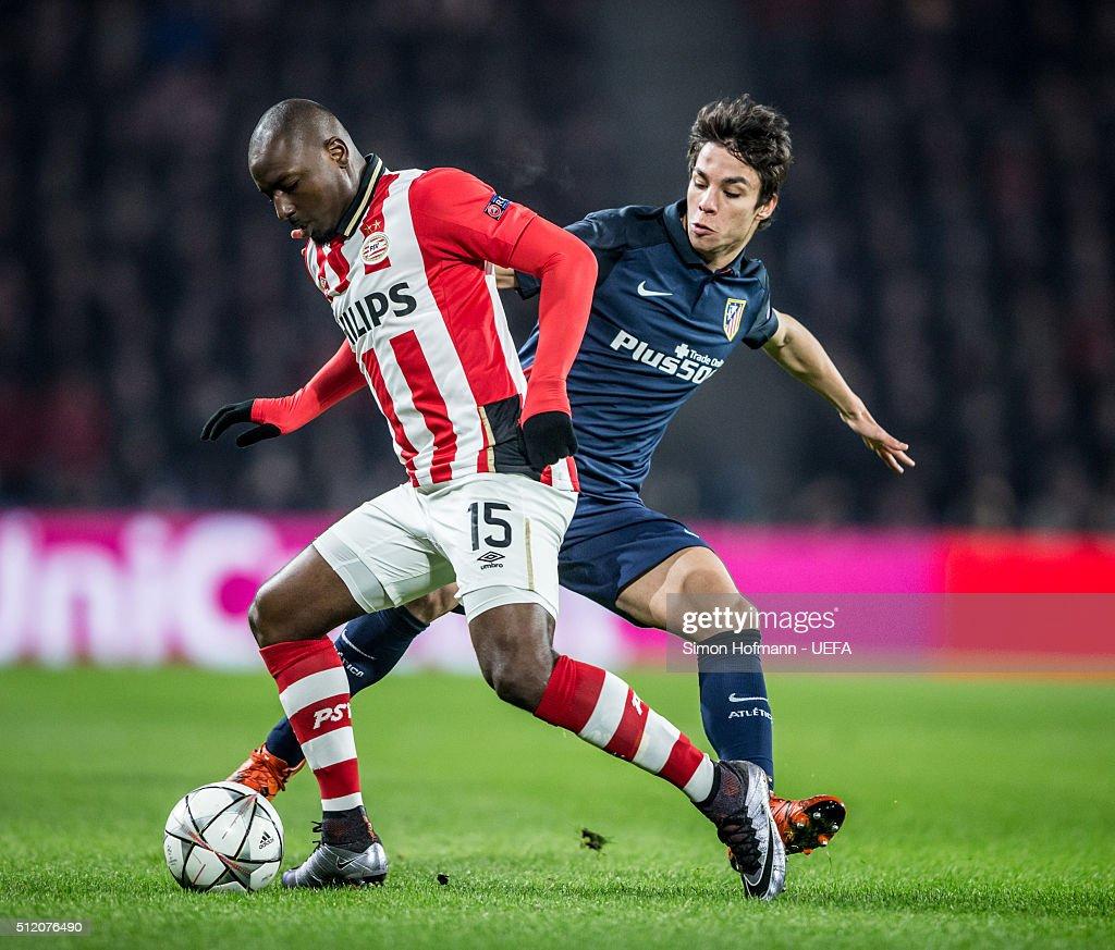 PSV Eindhoven v Club Atletico de Madrid - UEFA Champions League Round of 16: First Leg